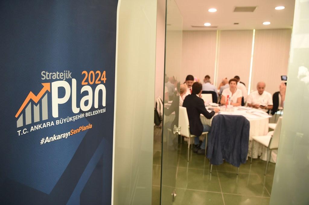 Başkentte Stratejik Plan Çalıştayı Toplandı